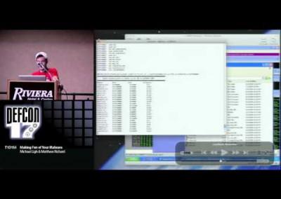 DEF CON 17: Making fun of your malware