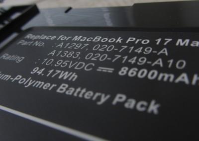 Battery firmware hacking