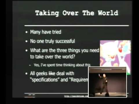 BruCON 2010: Embedded system hacking and my plot to take over the world 1/4