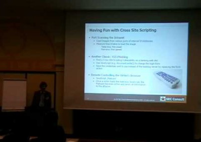 DeepSec 2007: Browser hijacking