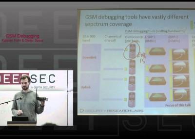 DeepSec 2010: Debugging GSM