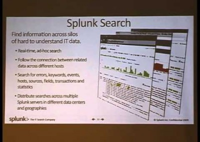 SOURCE Boston 2009: Splunk