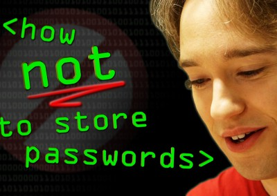 How NOT to Store Passwords!