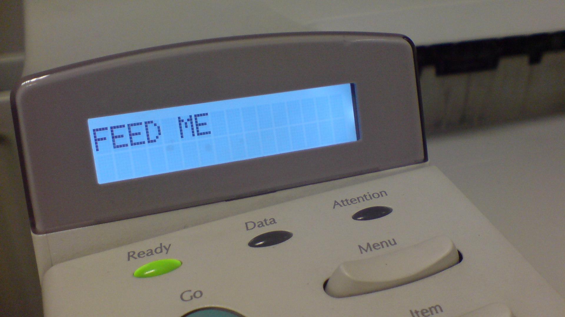 Printers gone wild!